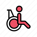 disability, health, healthcare, hospital, medical, medicine, treatment icon