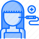 equipment, face, laser, medical, medicine, surgery, technology icon