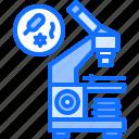 bacterium, equipment, medical, medicine, microscope, technology icon
