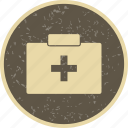 aid box, emergency, first aid box icon