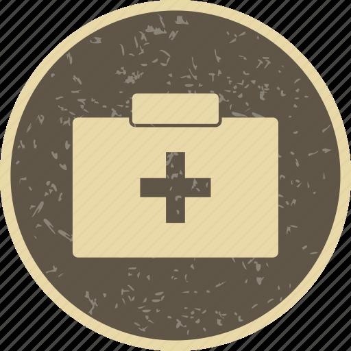 aid box, emergency, first aid box icon