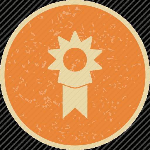 reward, ribbon, winner icon