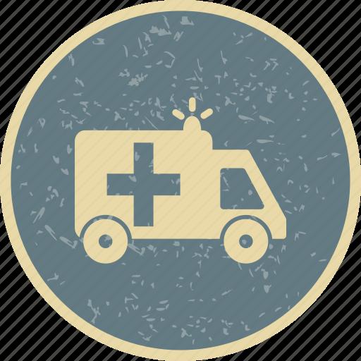ambulance, emergency, treatment icon