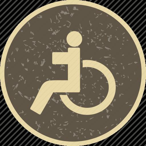 Handicap, handicapped, wheel chair icon - Download on Iconfinder