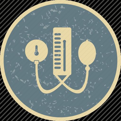 Blood pressure machine, bp apparatus, healthcare icon - Download on Iconfinder