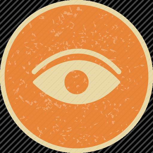 Eye, find, look icon - Download on Iconfinder on Iconfinder