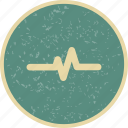 ecg, pulse, pulse rate icon
