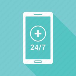 customer support, helpline, medical, medical sign icon