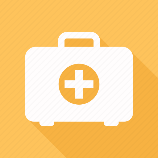 bag, baggage, briefcase, first aid, luggage icon