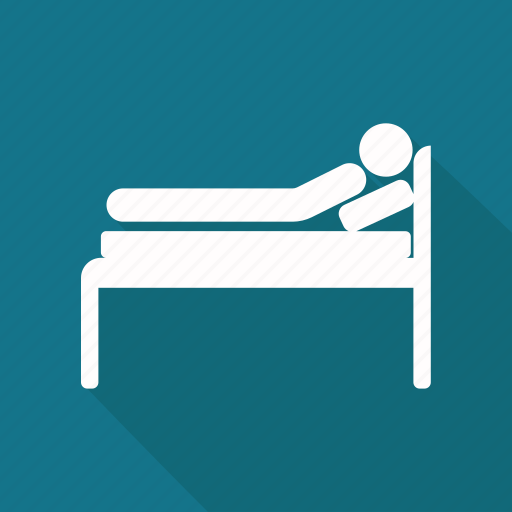 bed, bedroom, relax icon, sleep, sleeping icon