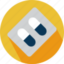 medical, medicine, meds, pills icon