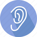 clinic, ear, ear doctor, hearing icon