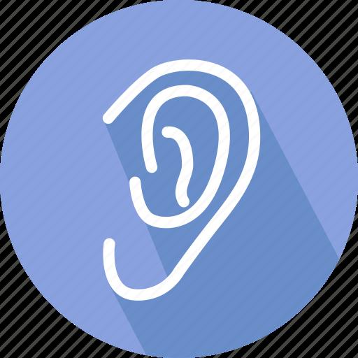 clinic, ear, ear doctor, hearing icon