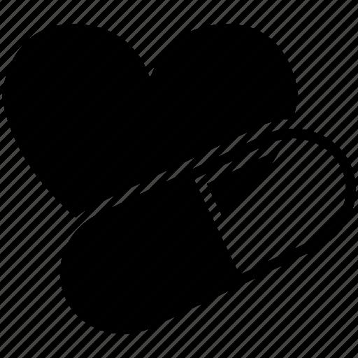 heart, heart's medicine, heart's pill, heart's tablet, medicine, tablets icon