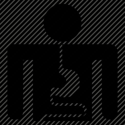 gastroenterologist, gastrointestinal, patient, stomach, stomach patient icon
