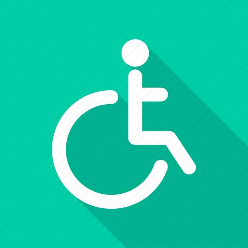 disable, gap, handicap, wheelchair icon