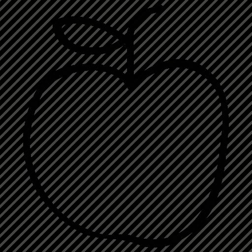 apple, health, healthcare, nutritious icon