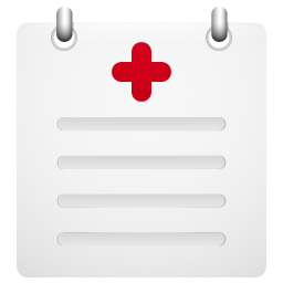 medical, report icon
