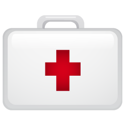 medical, suitecase icon