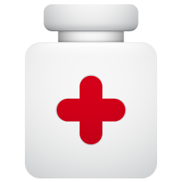 pills, pot icon