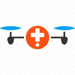 ambulance, drone, drugstore, medical, medicine, pharmacy, quadcopter icon