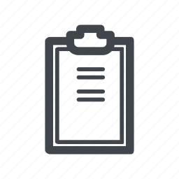 chart, clipboard, healthcare, medicine icon