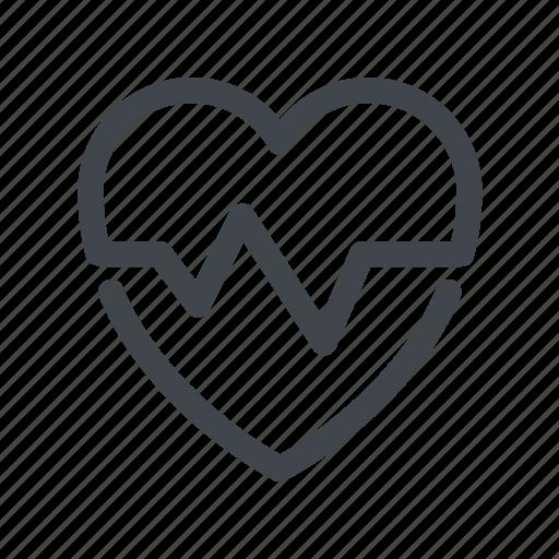 ekg, healthcare, heartbeat, medicine icon