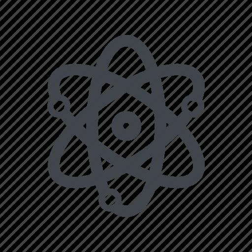 healthcare, medicine, nuclear icon