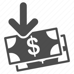 cash, earnings, finance, income, money, payment, profit icon