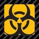 biohazard, medical, sign, warning