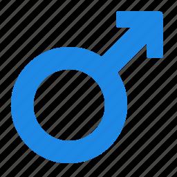 man, mars, medical, sign icon