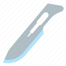 scalpel, surgery, surgical, tool icon