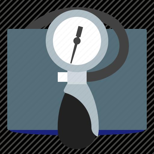 aid, blood pressure, care, tonometer icon