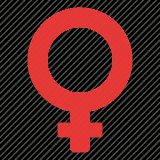 sign, symbolism, venus, woman icon