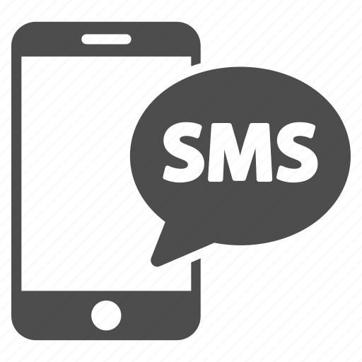 chat, communication, connection, phone, send sms, telephone, text icon