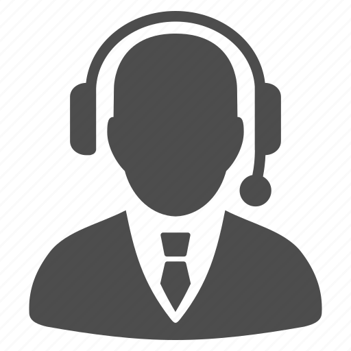 call center, communication, customer support, dispatch, dispatcher, online service, operator headset icon