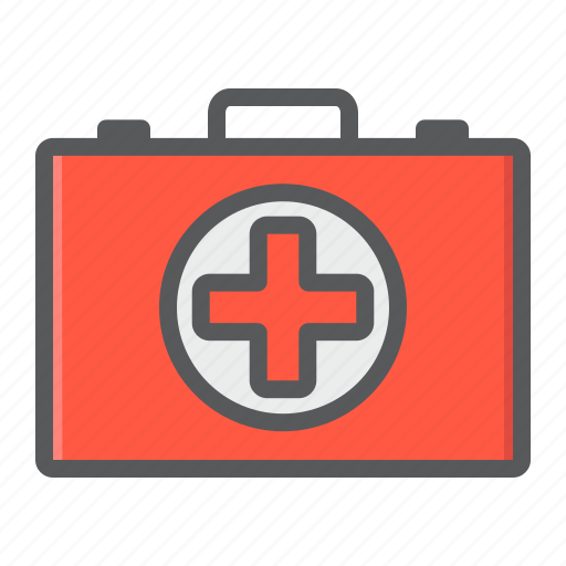 aid, box, emergency, first, healthcare, kit, medicine icon