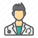 doctor, healthcare, hospital, medical, medicine, person, physician icon