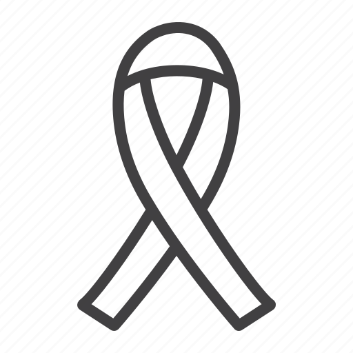 aids, charity, disease, healthcare, medicine, ribbon, support icon
