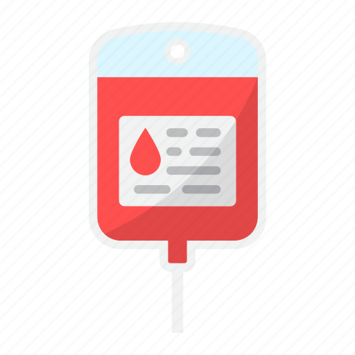 bag, blood, counter, drop, iv, saline, solution icon