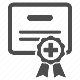 award, certificate, certification seal, diploma, guarantee, quality, warranty icon