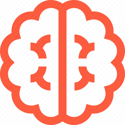 body, brain, cerebrum, human, intellect, mind, smart icon