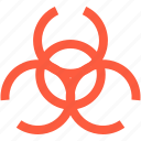 biohazard, biological, contamination, hazard, pollution, toxin, virus icon