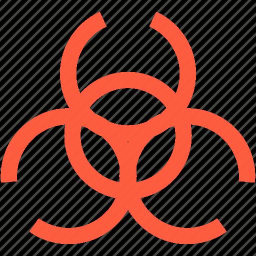 biohazard, biological, contamination, hazard, pollution, toxin, virus icon