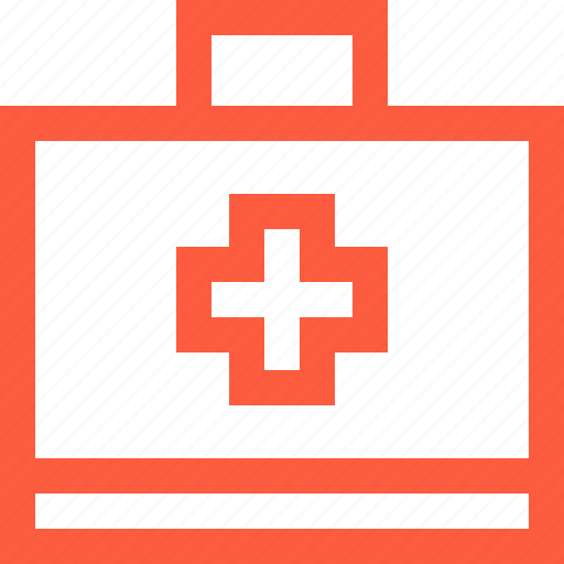 aid, bag, box, case, first, kit, medical, medkit, set icon