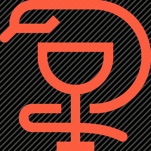 asclepius, drugstore, hygieia, logo, medical, pharmacology, pharmacy, sign icon