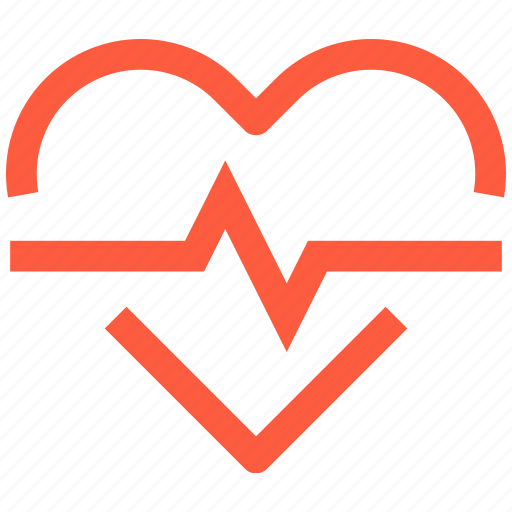 beat, cardiography, heart, heartbeat, medical, pulse, rate icon