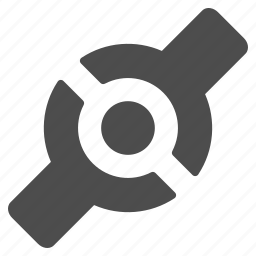 artificial joint, bend, connect, connection, cyborg, plugin, technology icon