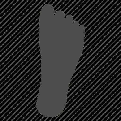 feet, foot, footprint, human footprint, step, trace, track icon