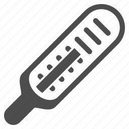 heat, instrument, measure, medicine, mercury thermometer, temperature control, value icon